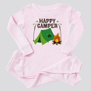 Happy Camper Baby Pajamas